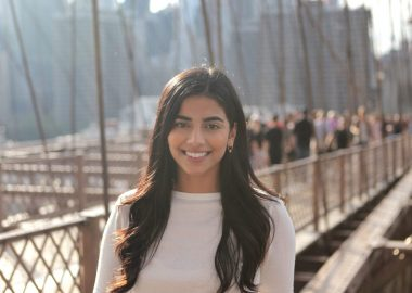 A headshot of Masooma Ali