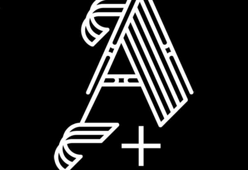 Art+Tax logo with black background and lettered A and + sign.