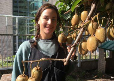 Kim Enns, YWCA Rooftop Garden Coordinator