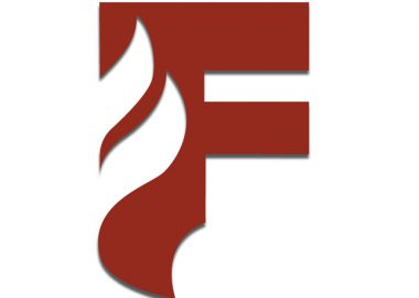 An image of Firegrove Studio's logo. It is a red capital