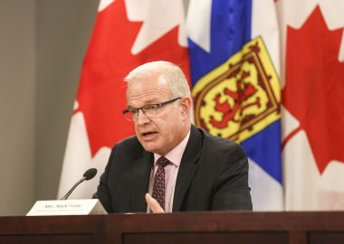Justice Minister Mark Furey answers questions about independent panel struck to look into April's mass shooting