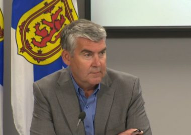 A photo of Premier Stephen McNeil