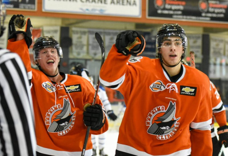 Junior hockey league players in BC are happy rules have been amended.   Photo courtesy Nanaimo Clippers