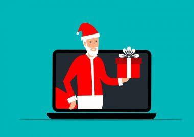 Père Noel virtuel