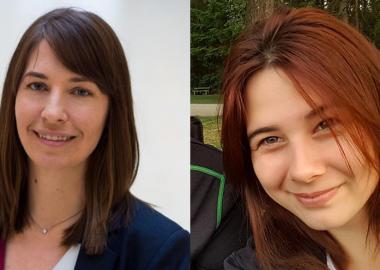 Side by side headshots of Jennifer Wolowic and Cheyenne Stonechild