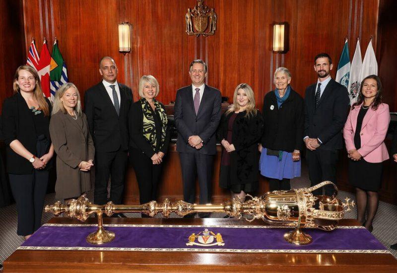A photo of Vancouver City Council.