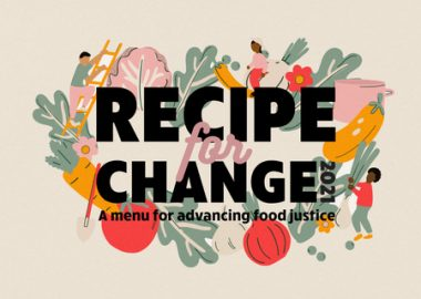 Recipe for Change illustrated banner