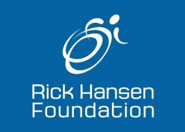 Hans Egger and Kim Egger, representatives from the Rick Hansen Foundation shared how there foundation is trying to make life easier for individuals with disabilities. Photo Courtesy of Rick Hansen Foundation Twitter.