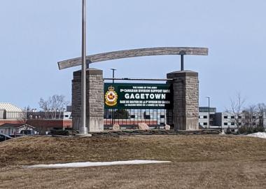 Base militaire de Gagetown