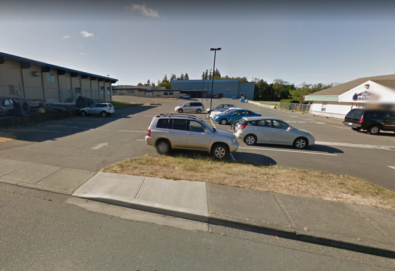 Carihi Secondary School in Campbell River – courtesy Google maps