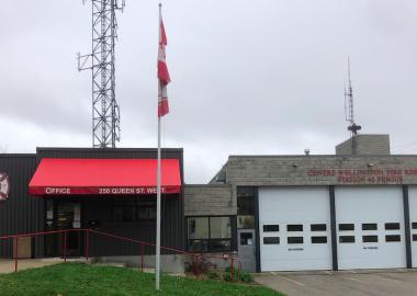Centre Wellington Fire Rescue Services department is shown.
