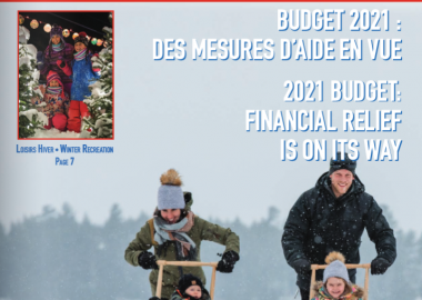 The front page of the VLB info TBL newsletter for December 2021.