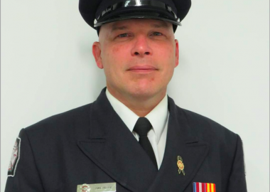 Jamie Hiller is among three recipients awarded the Firefighter's Medal of Merit.