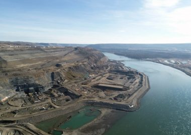 The site C dam will divert a river, flood a valley and cost BC Taxpayers $16 billion dollars   Photo Courtesy BC Hydro