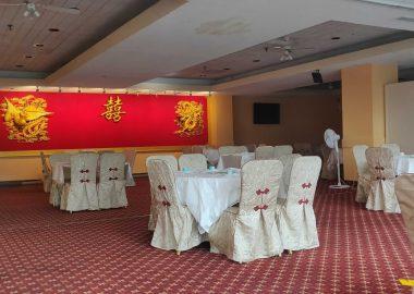 empty dining room at Sky Dragon
