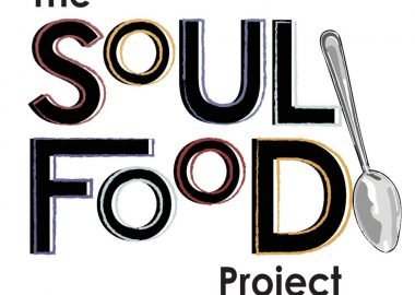 The multicoloured Soul Food Project logo featuring a spoon.