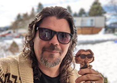Nanaimo film maker Todd Cameron with