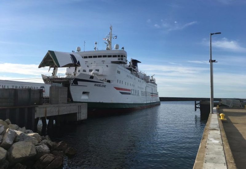 A photo of the current ferry operated by CTMA