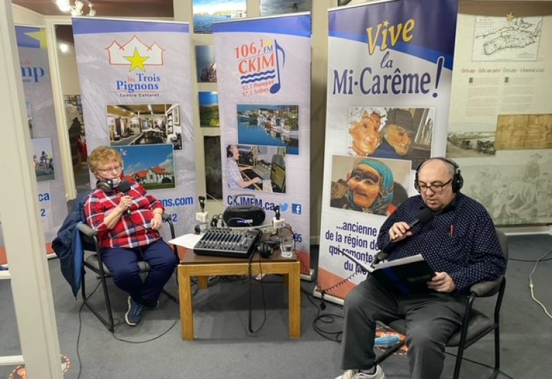 Radio CKJM en direct.