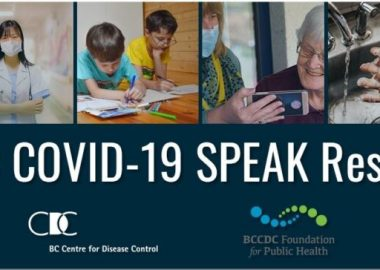 Survey by British Columbia Center for  Disease Control Foundation for Public Health  Photo BCCDC