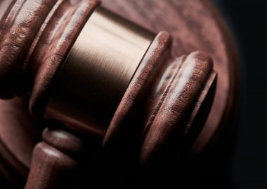 Le marteau de la justice