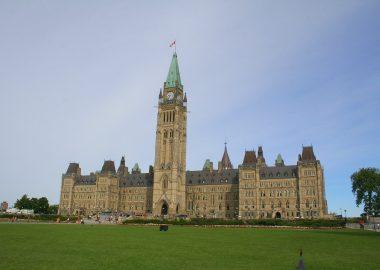 Le parlement à Ottawa