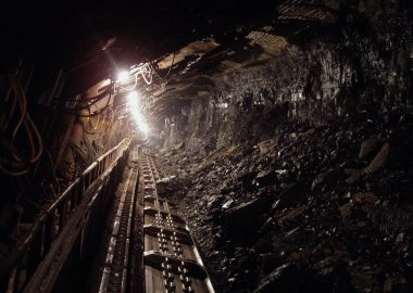 Mine de charbon.