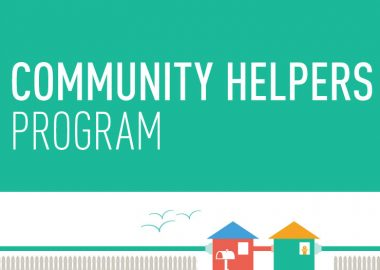 L'affiche du Community Helpers Program