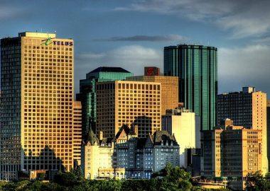 Édifices du centre-ville d'Edmonton