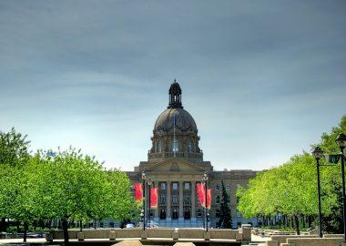 Parlement albertain à Edmonton.
