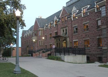 Wallace McCain Student Centre on York Street in Sackville. Photo: exp.com