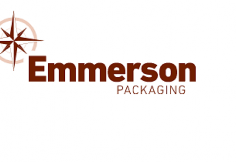 Emmerson Packaging logo against a white background.