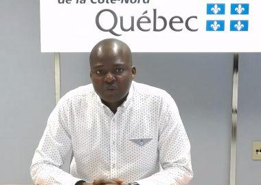 Dr Richard Fachehoun du CISSS de la Côte-Nord a reconnu un premier décès lié à la COVID-19. – Photo archives CJTB