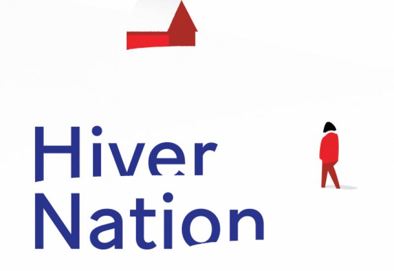 Pochette d'album d'Hiver Nation