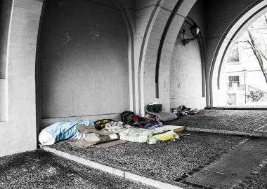 refuge de sans abris