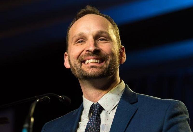 Ryan Meili, chef du Nouveau Parti Démocratique de la Saskatchewan
