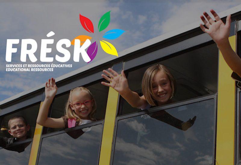 FRESK: Le site web qui permet l'accès faciles aux service pédagogiques en français en Saskatchewan  Crédit Photo:  www.fresk.ca