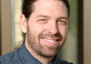 Jérôme Melançon,  professeur agrégé à la cité universitaire francophone de Regina. Photo: Jérôme Melançon