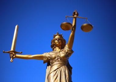 Statue de la justice.