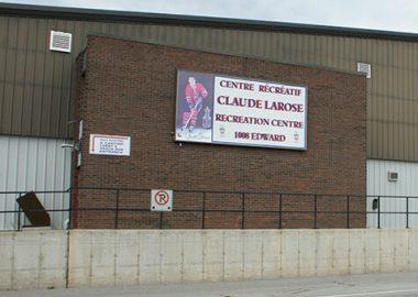 Le Centre récréatif Claude-Larose vu de lextérieur