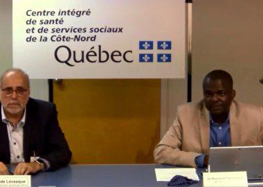 Le p.-d.g. du CISSS de la Côte-Nord Claude Lévesque reconnait l'existence de problèmes de communications avec la ligne centrale de COVID-19. – Photo archives CJTB