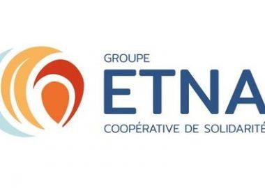 La mission du groupe ETNA est de développer des formations en tourisme adaptées aux besoins de la Basse-Côte-Nord et de la Minganie. - Logo du groupe ETNA