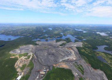 Photo mine du lac Tio, près de Havre-Saint-Pierre, crédit minesqc.com