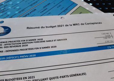 La MRC de Caniapiscau adopte ses prévisions budgétaires. Image : Élizabeth Séguin