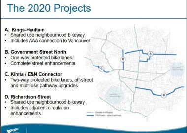 Le plan global de transport actif prévoit à terme 32 kilomètres de réseau cyclable pour tous les âges et tous les niveaux.