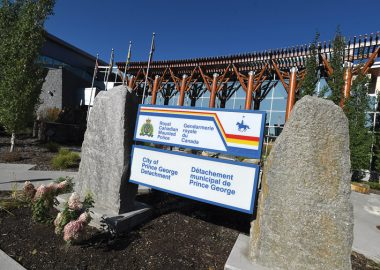 Northern BC RCMP Detachment office in Prince George