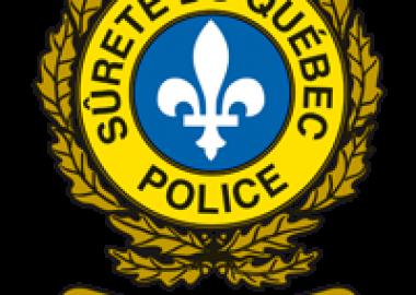 The logo of the Sureté du Québec