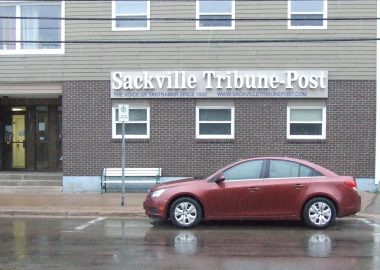 The Sackville Tribune-Post former downtown offices, which closed in 2018. Image: warktimes.com