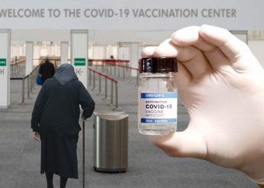 Centre de vaccination contre la COVID-19.