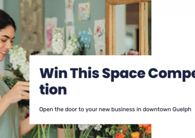 Entrepreneurs have a new opportunity to access prime retail space in downtown Guelph with the launch of the BCGW's 'Win This Space' competition.
